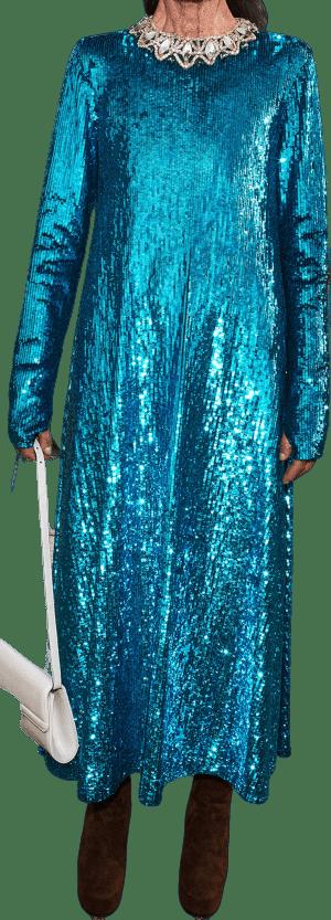 Blue Pre-Fall 2020 Dress