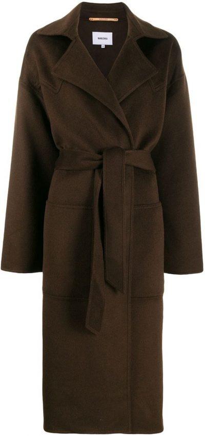 Brown Alamo Belted Coat