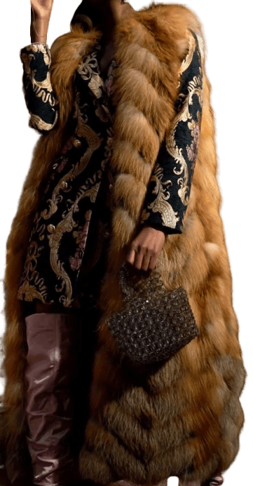 Brown Custom Fur Vest