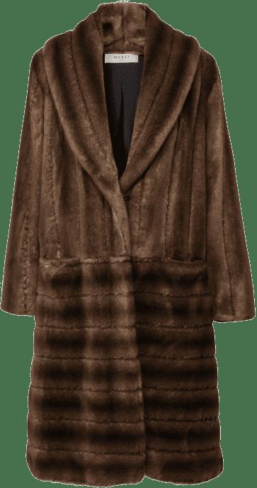 Brown Deutzia Coat