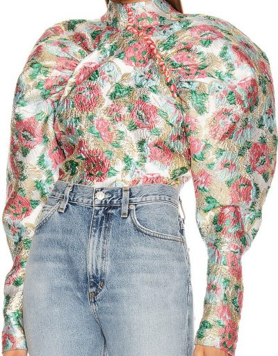 Morning Glory Kim Floral Top