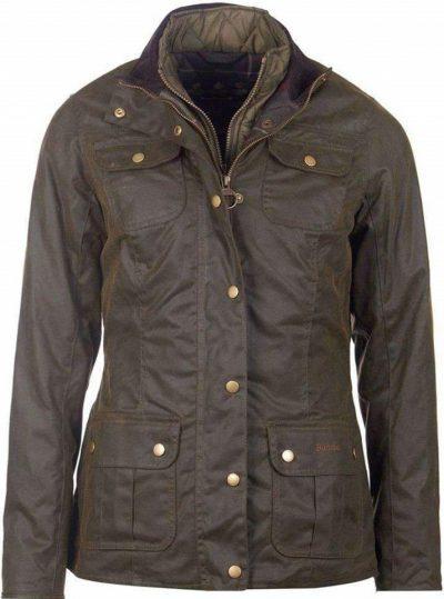 Olive Ashley Wax Jacket