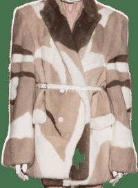 Pattern Fall 2020 Coat