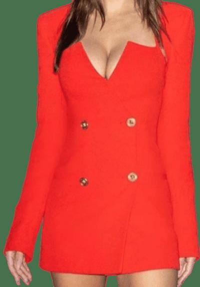 Red Custom Dress