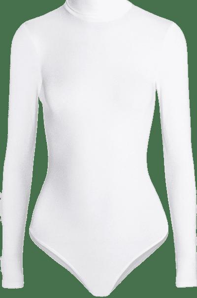 White Colorado Thong Bodysuit