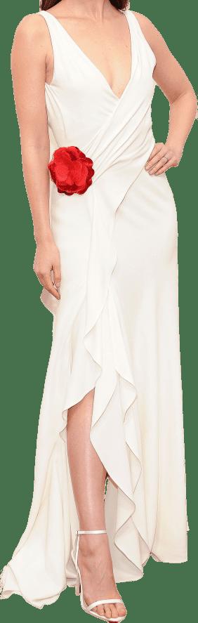 White Custom Dress
