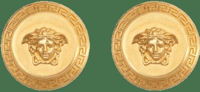 Gold Tribute Medusa Stud Earrings