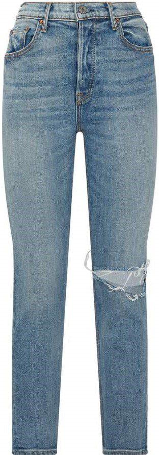 Karolina Ripped Knee Jeans