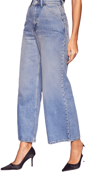 Marion Jackie Ultra HIgh-Rise Crop Jeans
