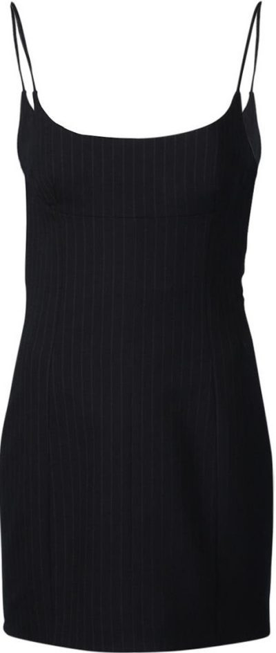 Navy Pinstripe Tailored Cami Dress-Alexander Wang