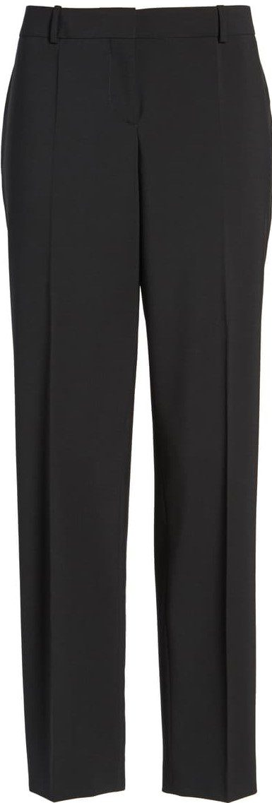 Navy Tiluna Slim Stretch Wool Suit Trousers