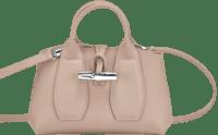 Roseau Sand Top Handle Bag-Longchamp