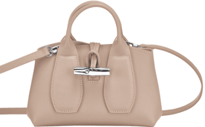 Roseau Sand Top Handle Bag-Longchamp