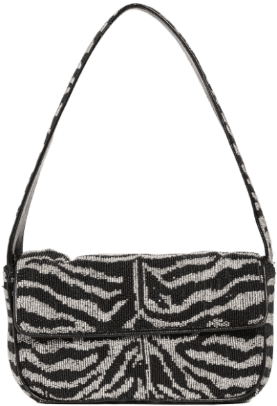 Black And White Tommy Bag