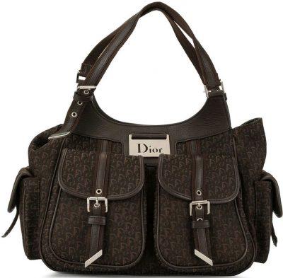 Brown Street Chic Tote Bag