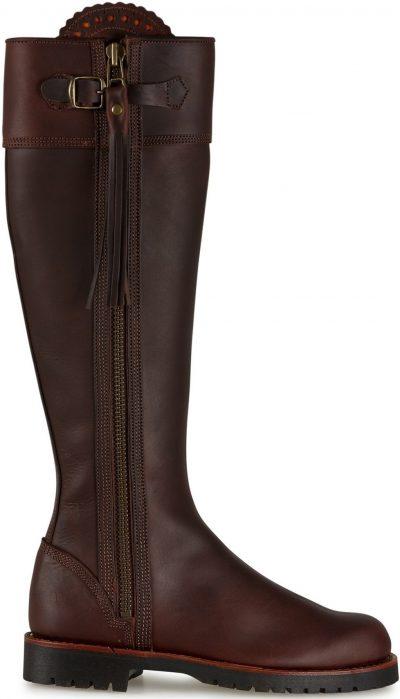 Conker Long Tassel Boots