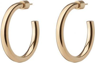 Gold Mini Lilly Hoop Earrings-Jennifer Fisher
