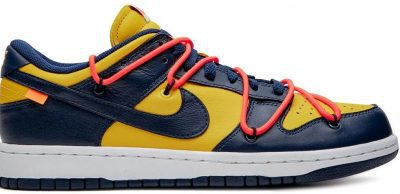 Gold Dunk Low University Sneakers