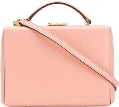 Pink Grace Small Box Tote Bag