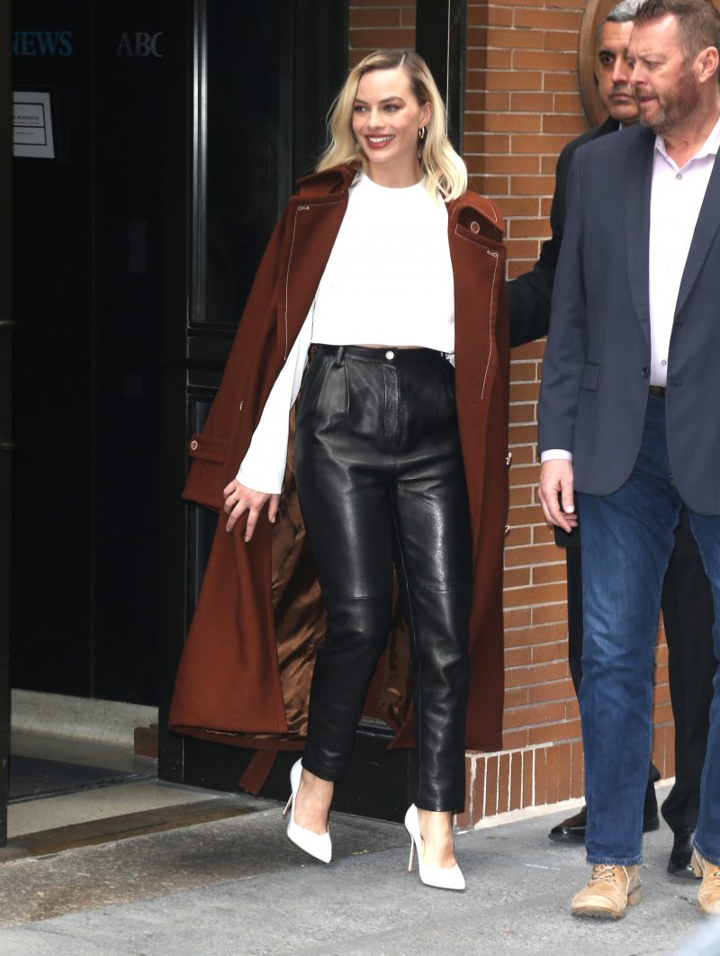 Margot Robbie out and about in New York City