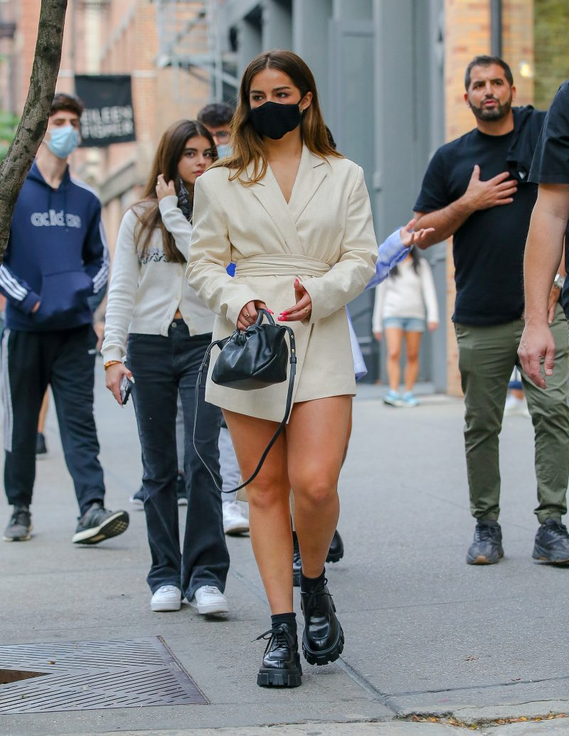 Addison Rae was seen taking a stroll in SoHo in New York City