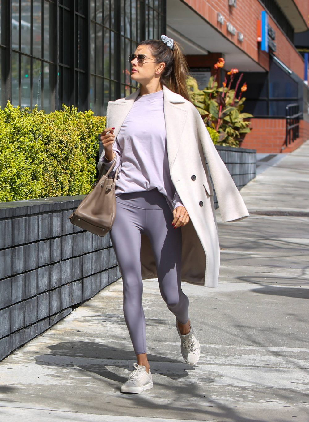 Alessandra Ambrosio out and about