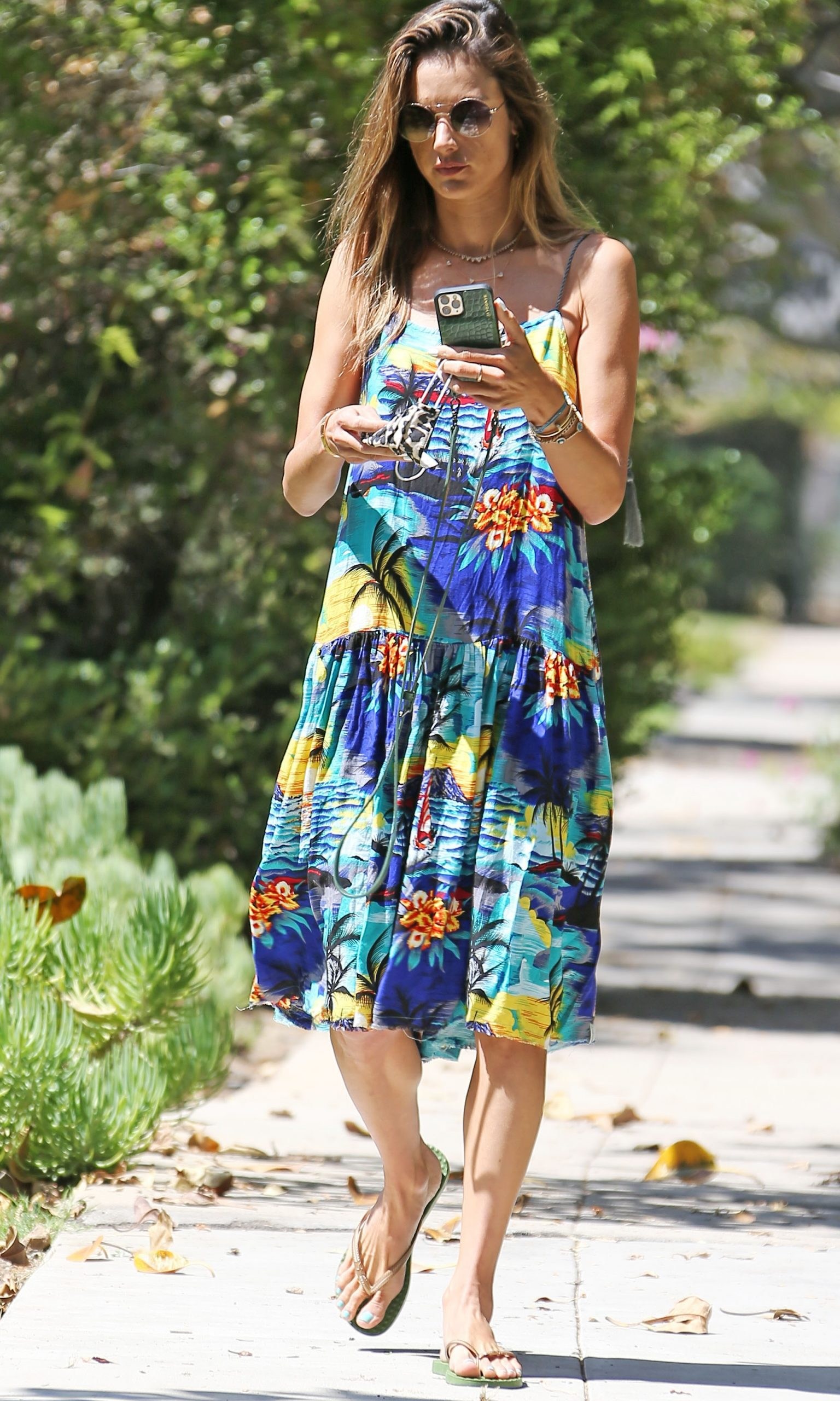 Alessandra Ambrosio out house hunting in Brentwood