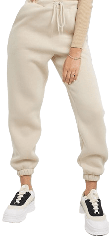 Almond Oversized Joggers
