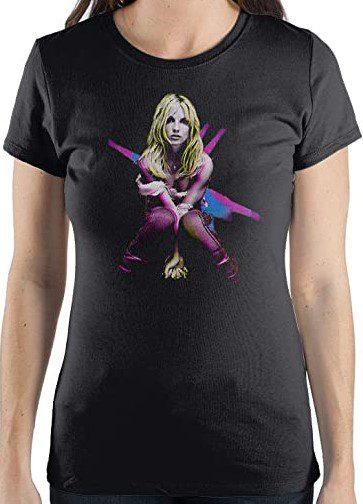 Black Britney Spears TShirt-Bioworld