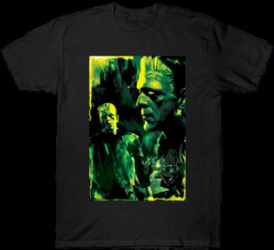 Black Frankestein T-Shirt