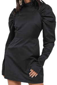 Black Glamurous Mini Shift Dress