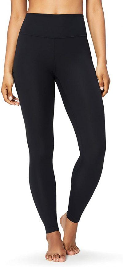 Black High-Waist Yoga Leggings