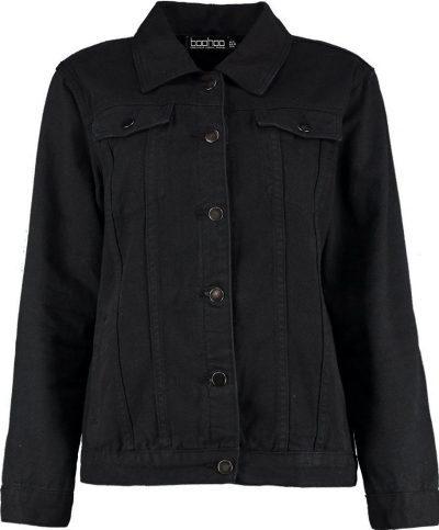 Black Oversize Denim Jacket