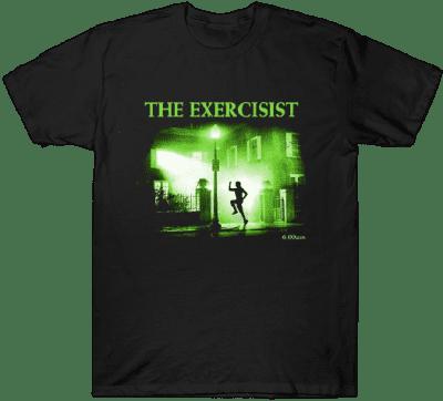Black The Exercisist T-Shirt-TeePublic