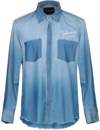 Blue Denim Shirt-John Richmond