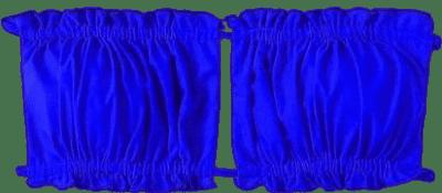 Blue Ruched Bandeau Bikini-Shein