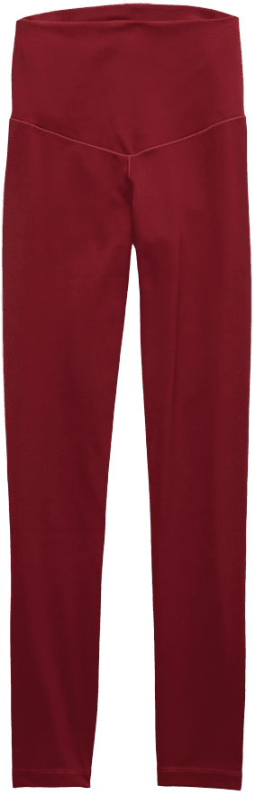 Burgundy Ivy Aerie Play Real Me High Waisted Legging-American Eagle