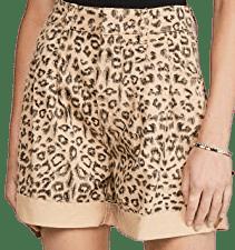 Cheetah Printed Dogtown Cutoff Shorts
