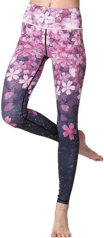 Cherry Blossom Leggings-Svelte Belle