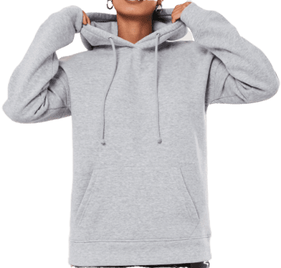 Gray Basic Hoodie-Missguided