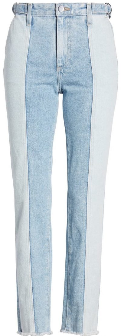 Infamous Isabelle High-Waist Crop Straight Jeans