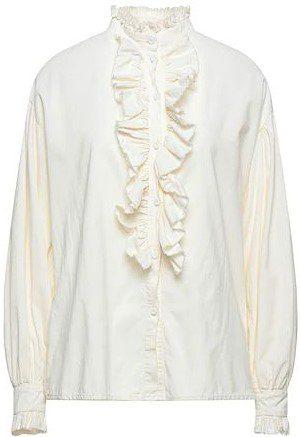Ivory Ruffle Shirt-Souvenir