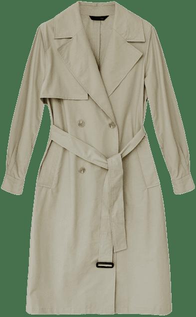 Khaki DLV Classic Trench Coat-The Daluv