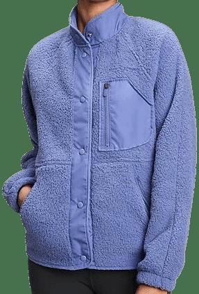 Larkspur Blue Polar Fleece Jacket-Gap
