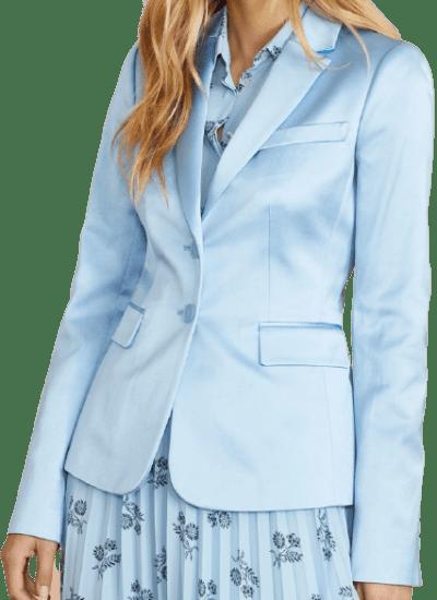 Light Blue Satin Jacket
