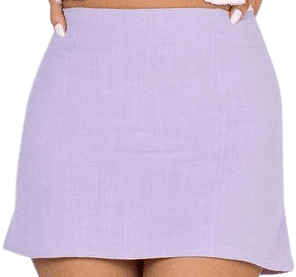 Lilac Selby Mini Skirt-Princess Polly