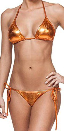 Liquid Copper String Bikini-Gary Majdell Sport