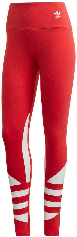 Lush Red Logo Tights-Adidas
