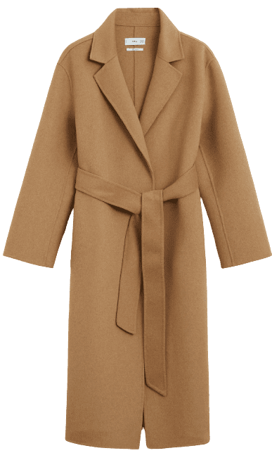 Medium Brown Handmade Wool Coat