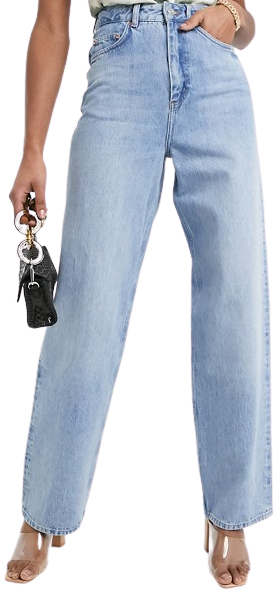Midwash Tall High-Rise Dad Jeans